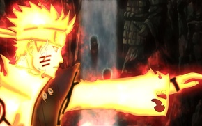 Картинка fire, flame, game, Naruto, anime, man, samurai, ninja, asian, manga, hokage, shinobi, japanese, Naruto Shippuden, …