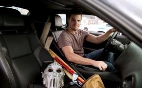 Картинка car, Casey Jones, Кейси Джонс, Stephen Amell, Стивен Амелл, Teenage Mutant Ninja Turtles:out of the …