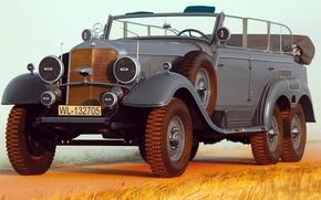 Картинка рисунок, Mercedes-Benz, арт, W31