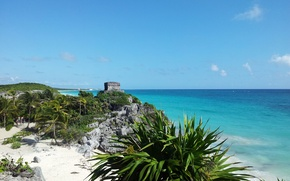 Картинка пляж, тропики, красота, Тulum