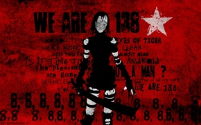 Картинка красный, абстракция, фон, надпись, киберпанк, Blame!, cyberpunk, manga, Tsutomu Nihei, silicone creatures
