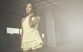 Картинка Girl, Japan, Beautiful, Model, Sun, Kazue