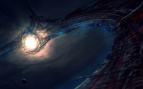 Картинка космос, фантастика, арт