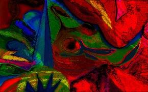 Картинка узор, цвет, текстура, пятно