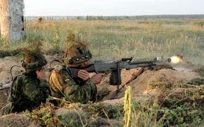 Картинка оружие, солдаты, Lithuanian Army