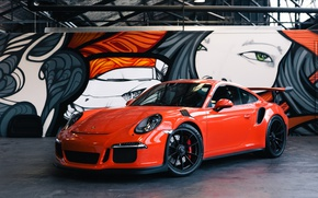 Картинка 911, porsche, GT3, RS