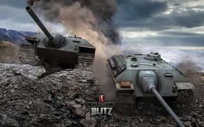Картинка Германия, танк, танки, Germany, WoT, Мир танков, tank, World of Tanks, tanks, Wargaming.Net, Blitz, E-25