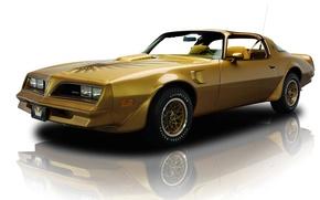 Картинка отражение, фон, золотистый, Pontiac, передок, понтиак, Firebird, фаэрбёд, Muscle car, 1978, спец.версия, Мускул кар, Y-88, …