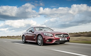 Картинка Roadster, Mercedes-Benz, родстер, мерседес, AMG, R231, SL-Class