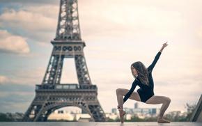 Картинка девушка, Париж, танец, Josephine Sapin