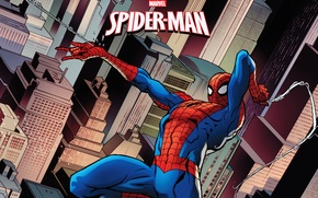 Картинка spider-man, marvel, comics