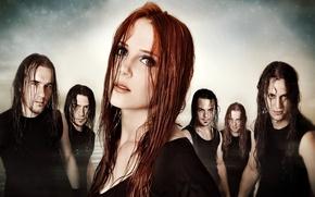 Обои gothic, Coen Janssen, metal, epica, Ariën Van Weesenbeek, готик, группа, band, Yves Huts, Isaac Delahaye, ...