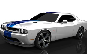 Картинка Dodge, SRT8, Challenger, додж, 2011, челленджер