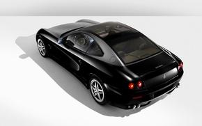 Картинка черный, Авто, ferrari 612