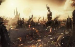 Обои Апокалипсис, разрушения, статуя