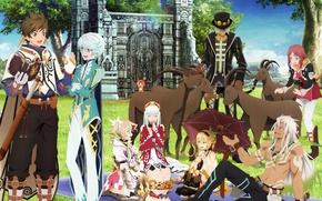 Картинка девушки, аниме, арт, парни, персонажи, Tales Of Zestiria The X