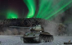 Картинка world of tanks, weapon, танк, Т-34, tank, игры, мир танков, game, оружие