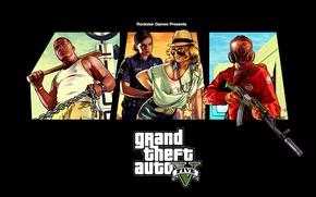 Картинка gta, rockstar games, Grand Theft Auto V, гта