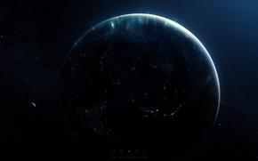 Обои грег мартин, пространство, Планета