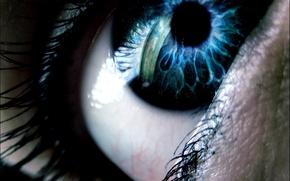 Картинка глаз, мрак, 157
