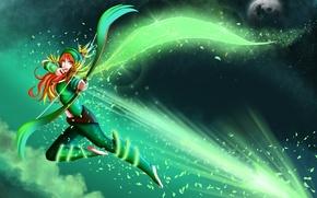 Картинка девушка, лучница, dota 2, windrunner, Windranger, lyralei