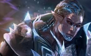 Картинка воин, арт, мужчина, Guild Wars 2, Talitapersi, Ness