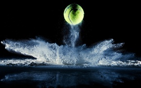 Картинка макро, спорт, мяч