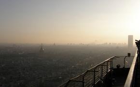 Обои Париж, Высота, Ейфель