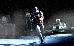 Картинка игры, AT-AT, Клон, AT-ST, star wars battlefront, Clone, TX-130
