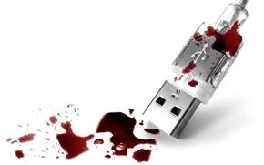 Обои кровь, Сироп, USB