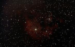 Картинка туманность, эмиссионная, в созвездии Цефей, NGC 7822