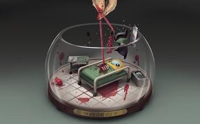 Картинка игры, games, valve, oldschool, Steam, скидки, 2013, стим, Surgeon Simulator, holiday sale
