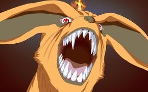 Картинка game, Naruto, fox, anime, fang, ninja, asian, manga, shinobi, japanese, Naruto Shippuden, Kyuubi, Uzumaki Naruto, ...