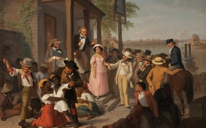 Картинка картина, живопись, рабы, негры, painting, торг
