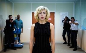 Картинка фантастика, Scarlett Johansson, боевик, Lucy