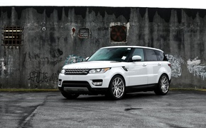 Картинка внедорожник, Range Rover, Range Rover Sport, White