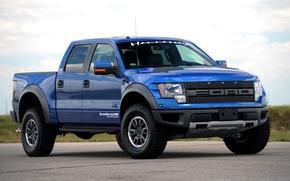 Картинка Ford, 2010, форд, Raptor, пикап, раптор, Hennessey