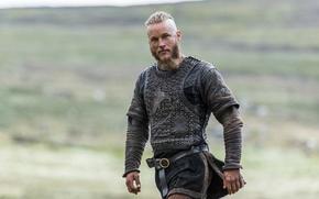 Картинка сериал, драма, воин, Vikings, Travis Fimmel, историческая, Викинги, Ragnar Lothbrok