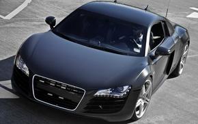 Картинка Audi, стильно, Black, Matte
