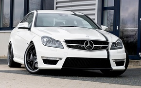 Картинка Mercedes-Benz, Wheelsandmore, C63 AMG