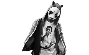 Картинка музыка, маска, панда, germany, panda, hip, cro, hop