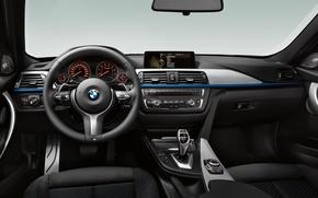 Картинка бмв, BMW, Салон, руль, бумер, приборная панель, бэха, f30, треха, salon, steering wheel