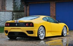 Картинка вид сзади, 360, Ferrari 360, Challenge Stradale