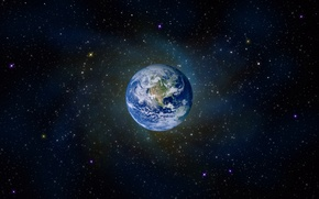 Картинка звезды, вселенная, Земля