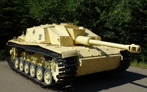 Обои танк, германия, вооружение, ВОВ, StuG-40