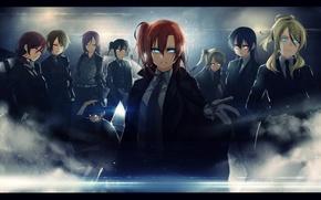 Картинка Love Live, Маки Нисикино, Нико Ядзава, Котори Минами, Ханаё Коидзуми, Хонока Косака, Нодзоми Тодзё, Уми …
