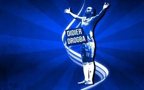 Картинка Blues, ФК Челси, FC Chelsea, Didier Drogba