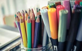 Картинка colors, pencils, markers