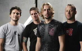 Картинка группа, Чед Крюгер, Майк Крюгер, Nickelback, музыканты, хард-рок, Дэниел Адаир, Райан Пике