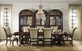 Картинка interior, dining room, vintage style
